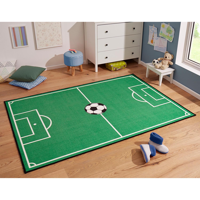 home24 Kinderteppich Fussballfeld | Kinderzimmer > Textilien für Kinder > Kinderteppiche | Textil | Zala Living