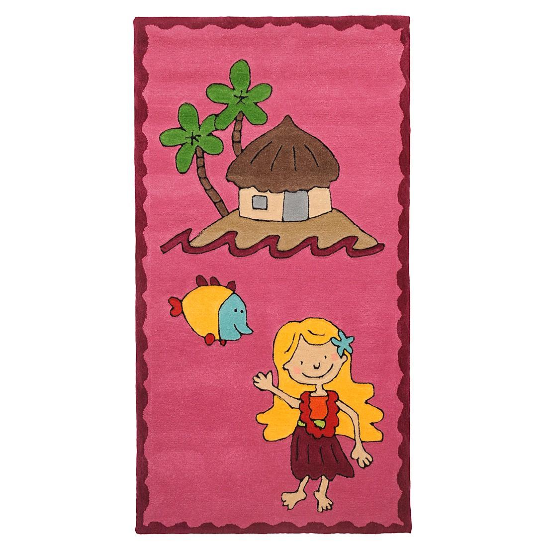 home24 Kinderteppich Maui | Kinderzimmer | Pink | Textil | THEKO die markenteppiche