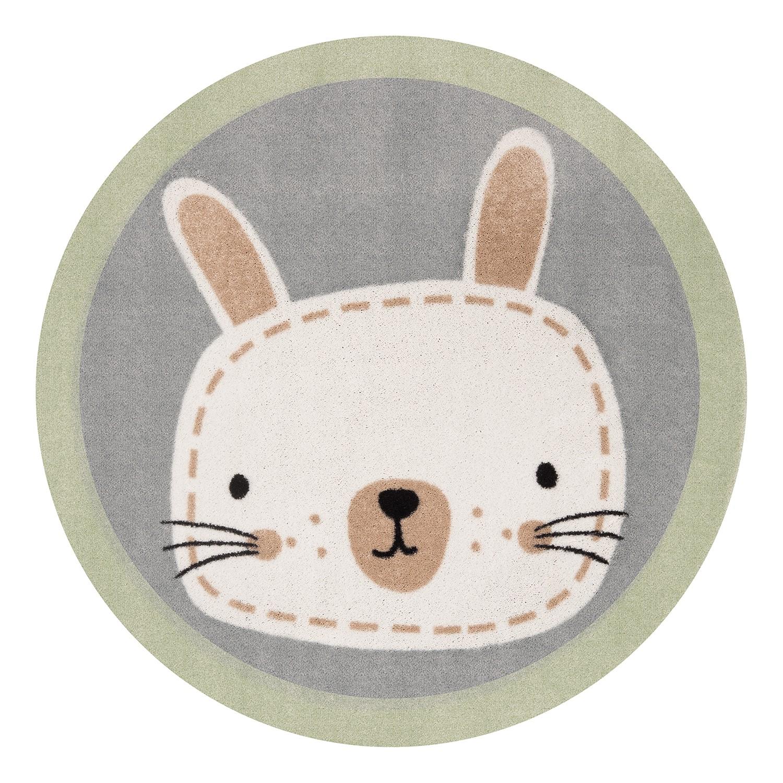 Kinderteppich Ninos Bunny | Kinderzimmer > Textilien für Kinder > Kinderteppiche | Gruen | Textil | Zala Living