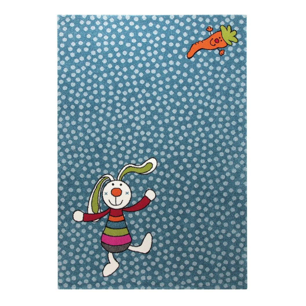 home24 Kinderteppich Rainbow Rabbit | Kinderzimmer > Textilien für Kinder | Blau | Textil | Sigikid