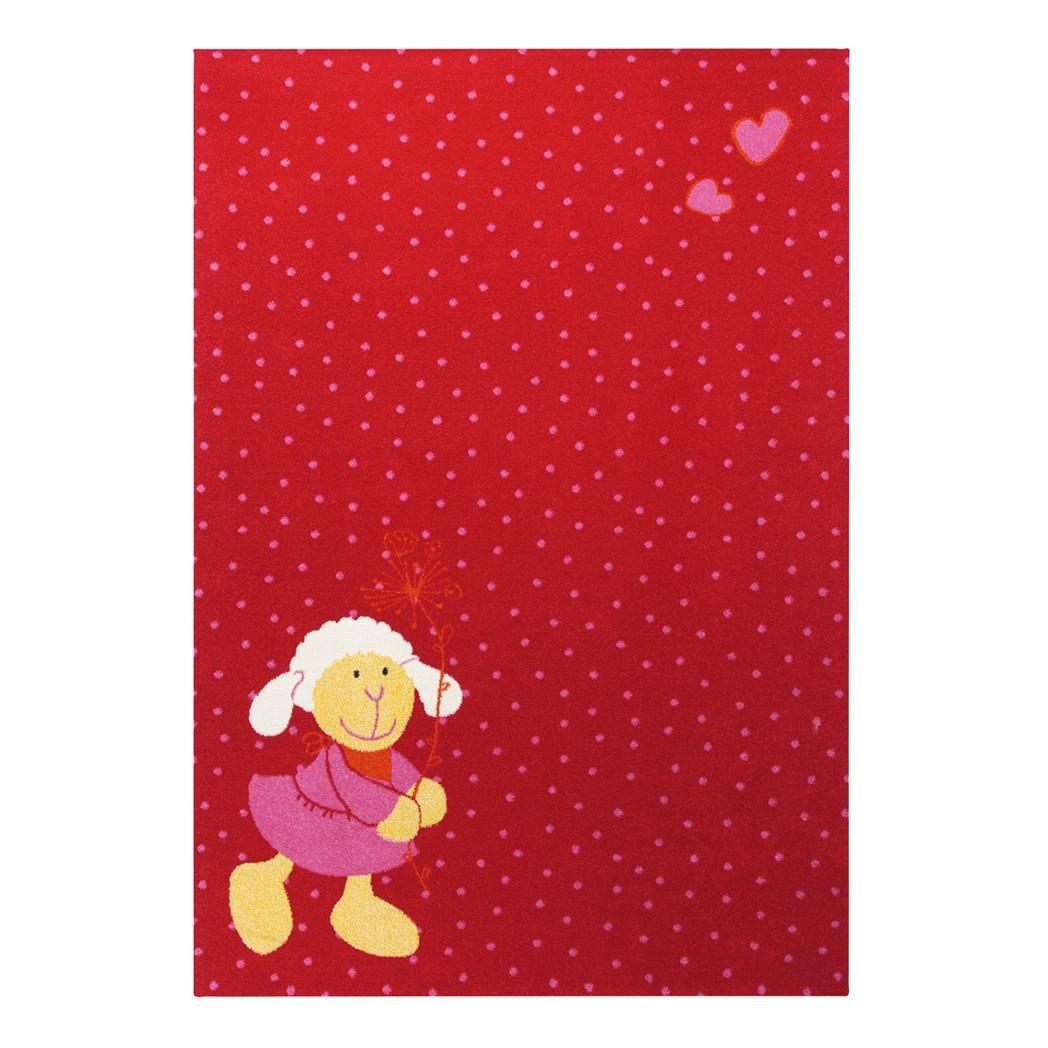 home24 Kinderteppich Schnuggi | Kinderzimmer > Textilien für Kinder | Rot | Textil | Sigikid