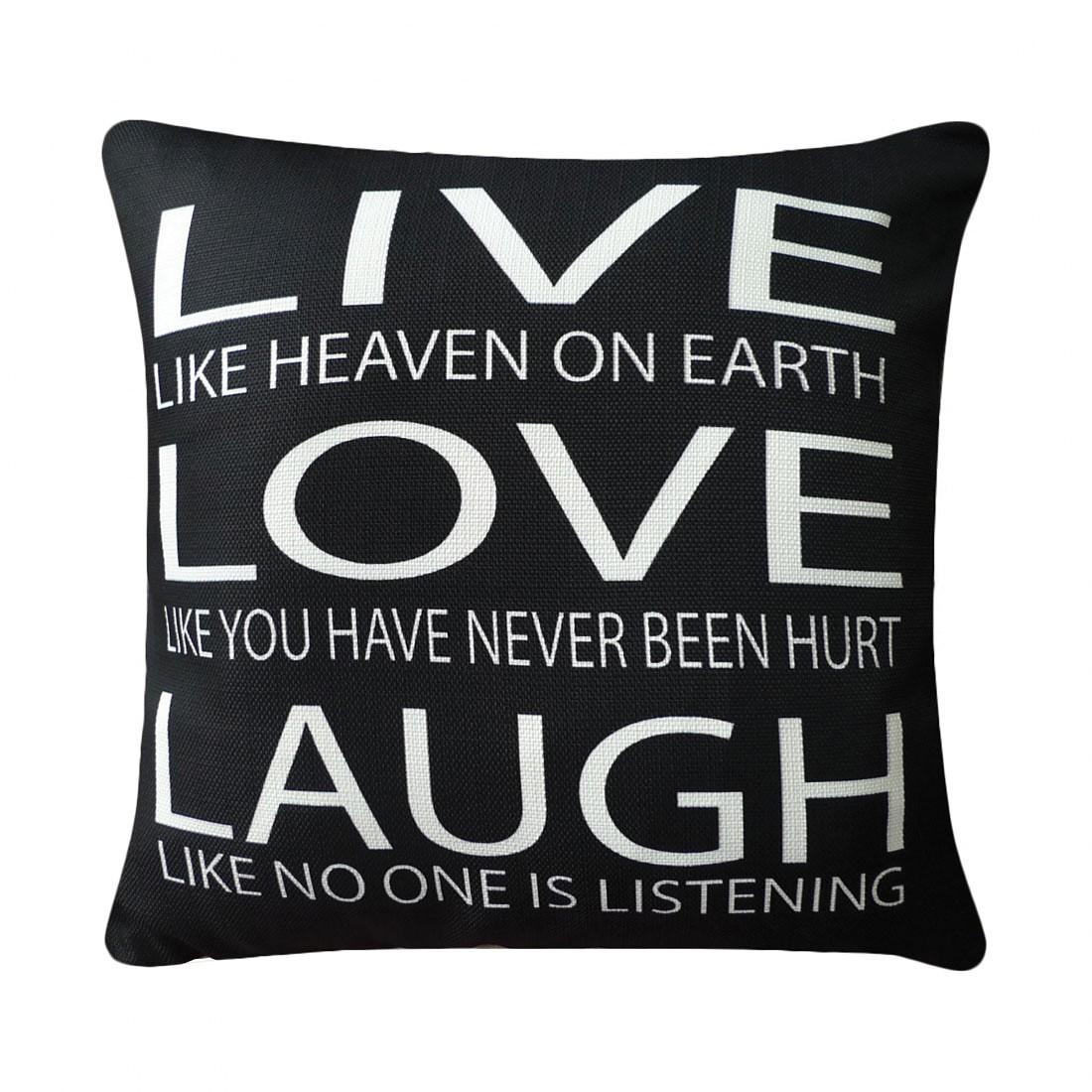 home24 Kissen Live Love Laugh
