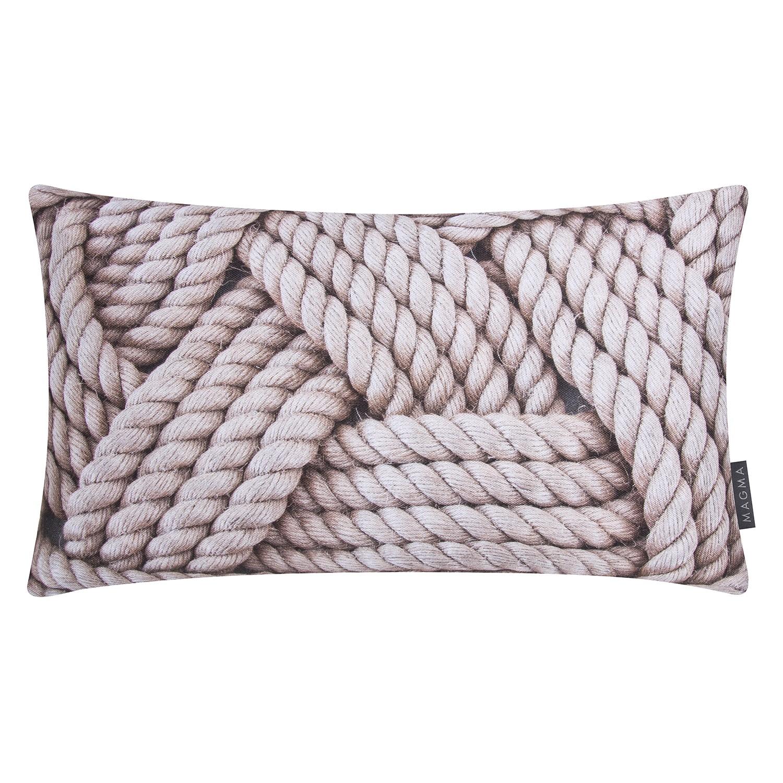 Kissenhülle Mehr Meer Seil - Baumwollstoff - Beige, Magma Heimte bei Home24 - Möbel