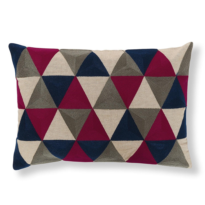 Housse de coussin shanti tissu multicolore juli grup for Catalogue meuble