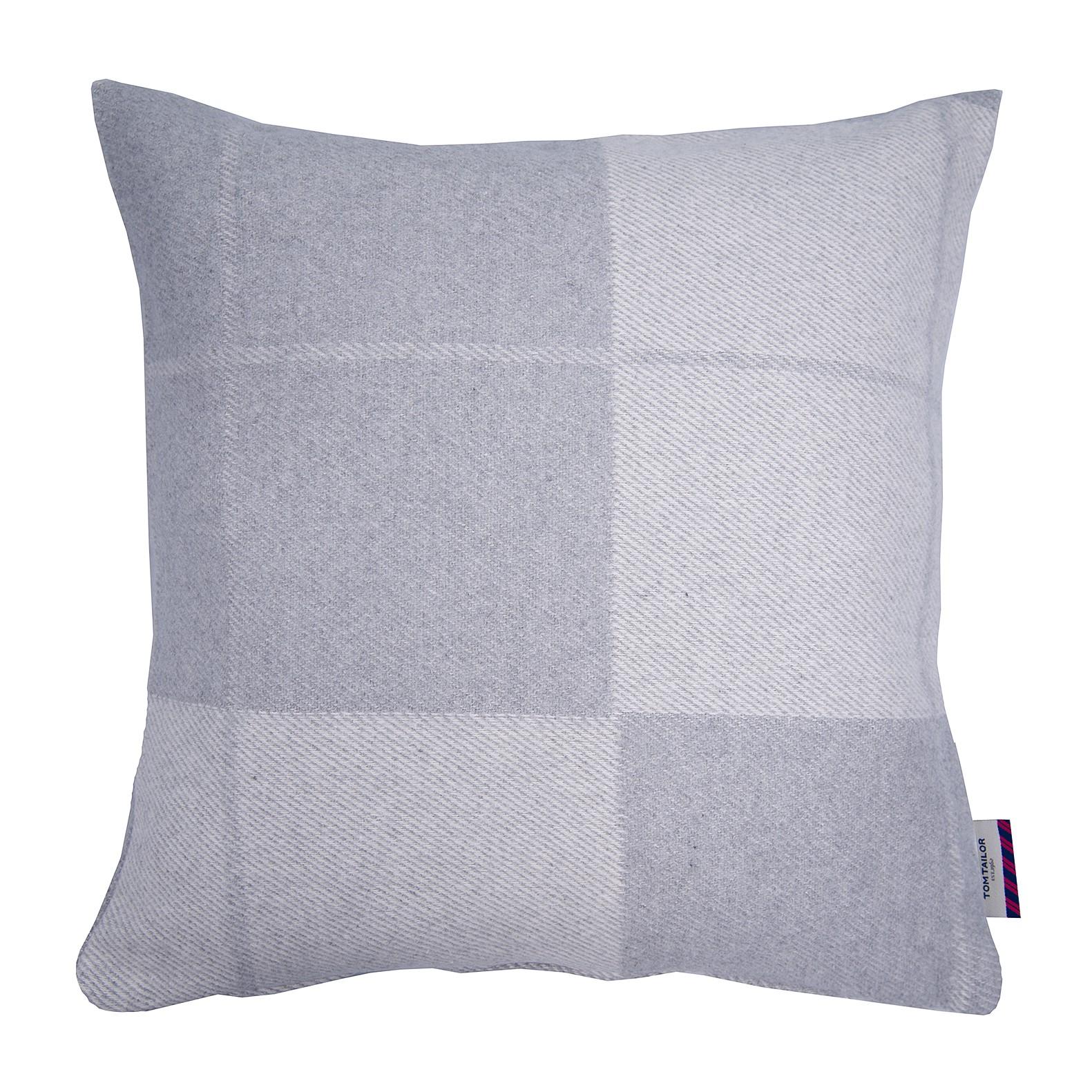 home24 Kissenbezug T-Soft Wool Check