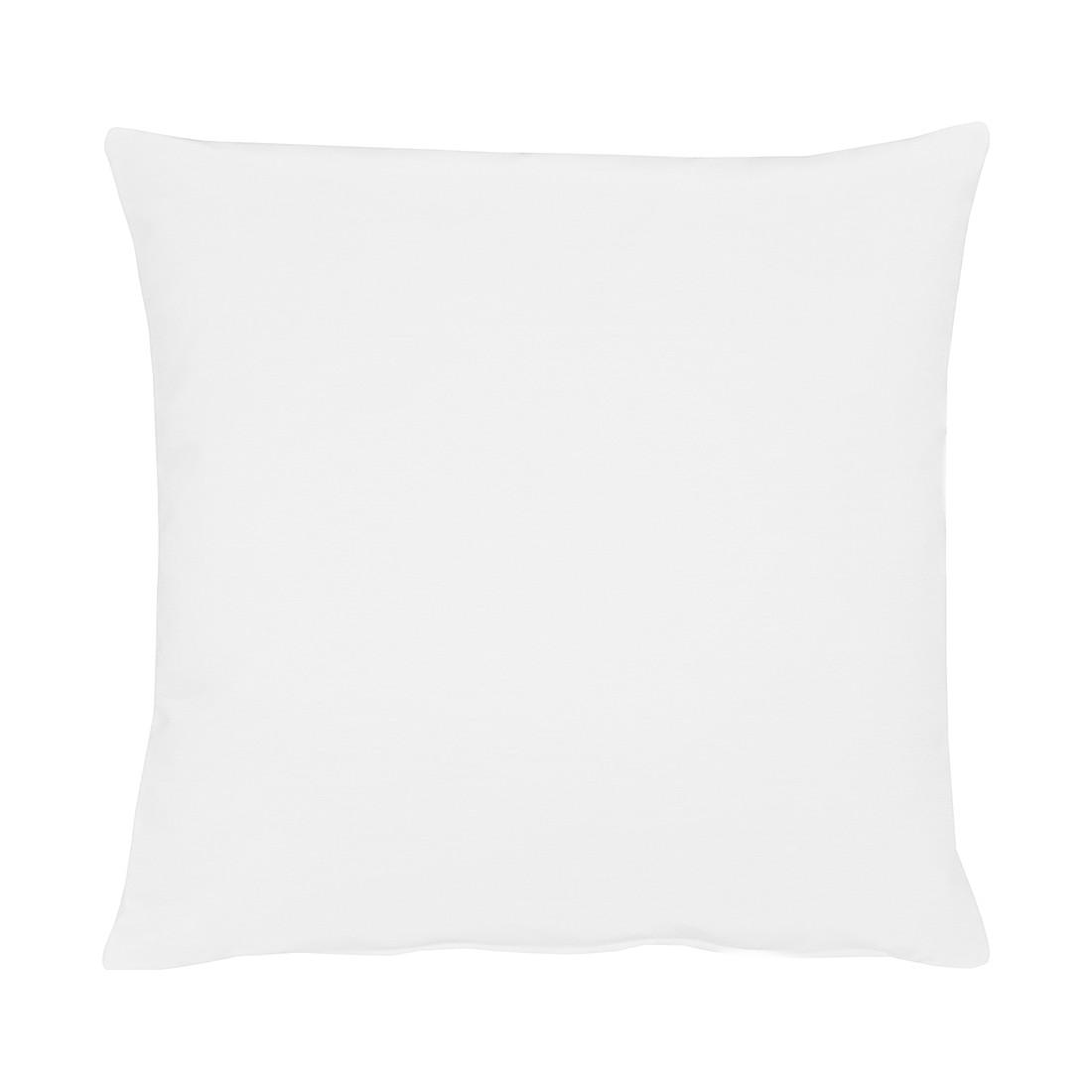 Apelt Kissenbezug Tizian Reinweiß 40x40 cm (BxH) Modern Baumwollmischgewebe