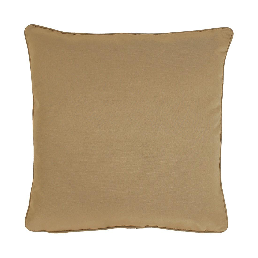 Apelt Kissenbezug Tizian Sandgrau 40x40 cm (BxH) Modern Baumwollmischgewebe
