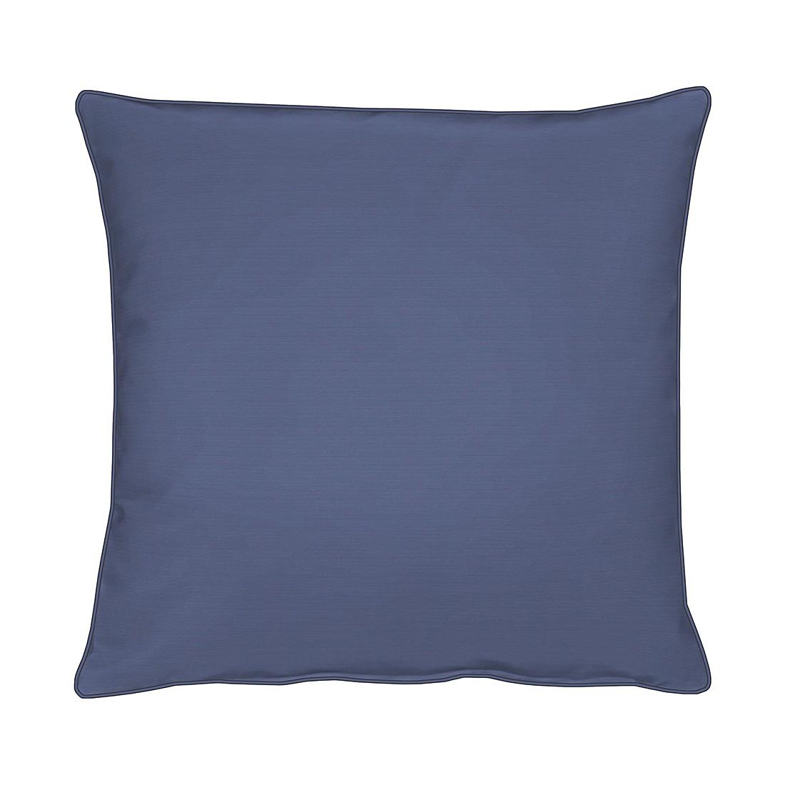 Apelt Kissenbezug Tizian Blau 46x46 cm (BxH) Modern Baumwollmischgewebe