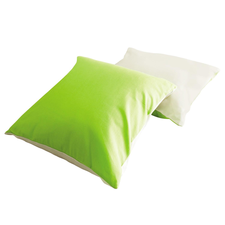 Kissenset Risa - Grün / Weiß, Ticaa