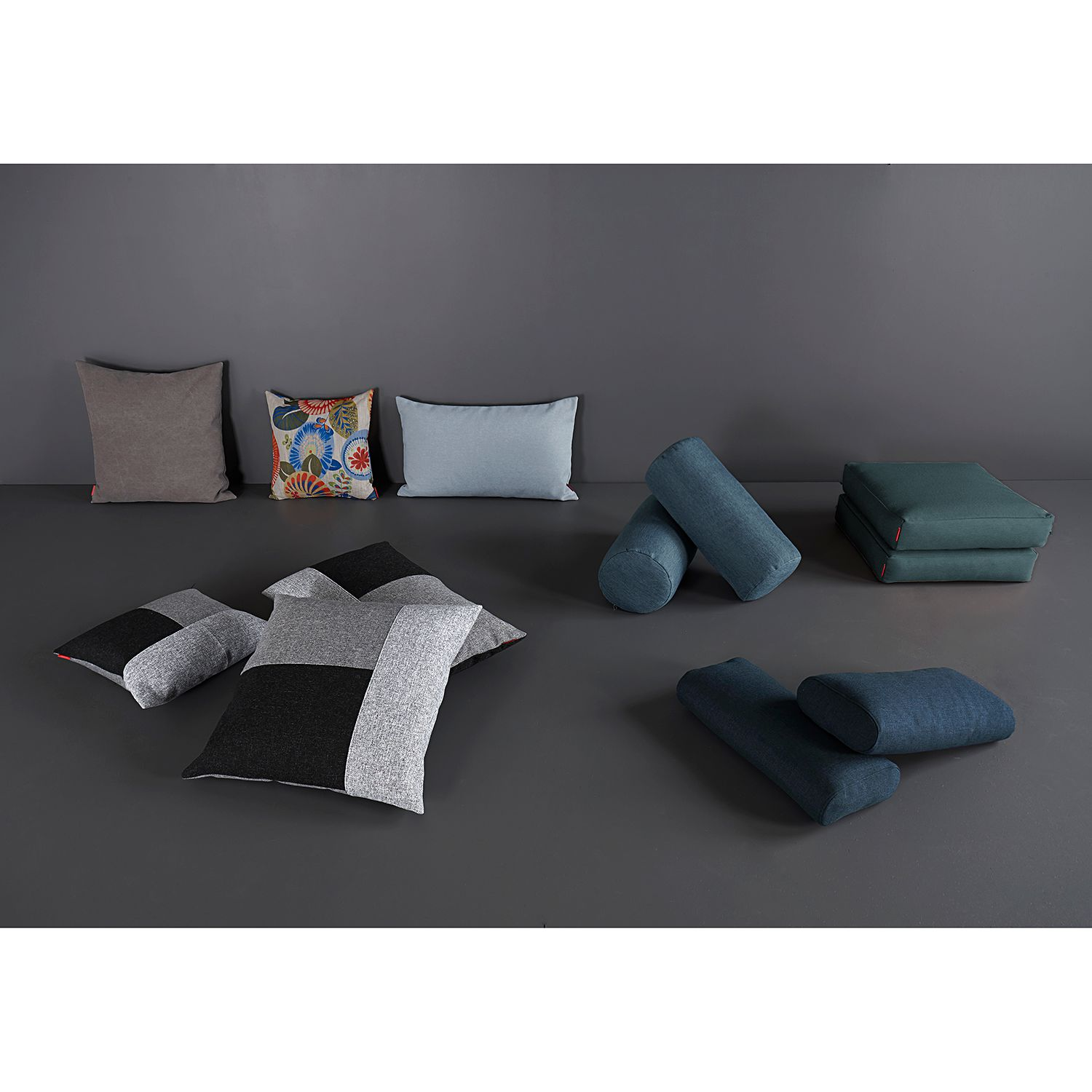 home24 Kissenset Sqare Cushions (2er-Set)