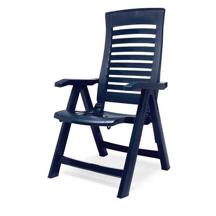 Klappstuhl Florida - Kunststoff - Blau, Best Freizeitmöbel bei Home24 - Sonderangebote