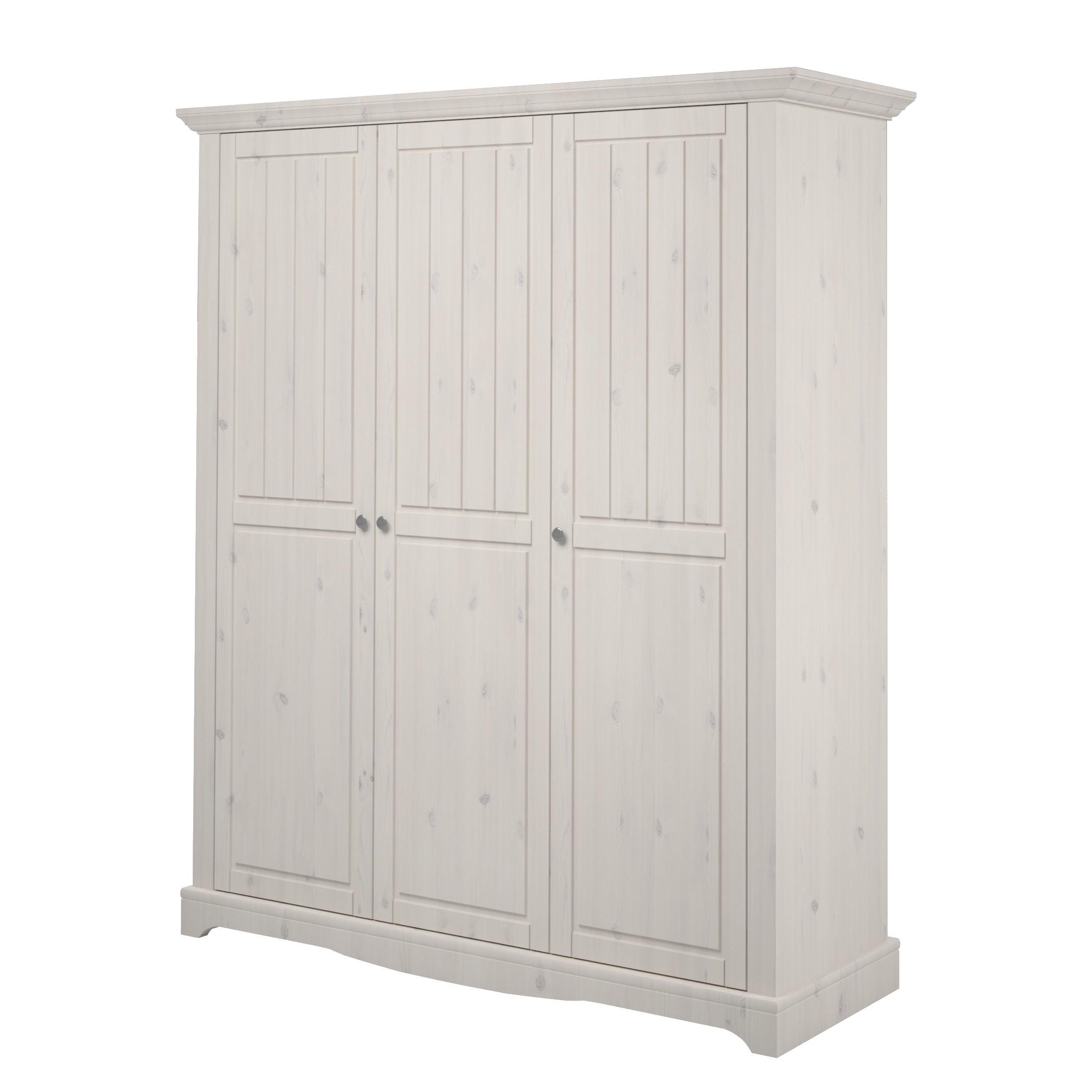 Armoire à vêtements Karlotta (3 portes)