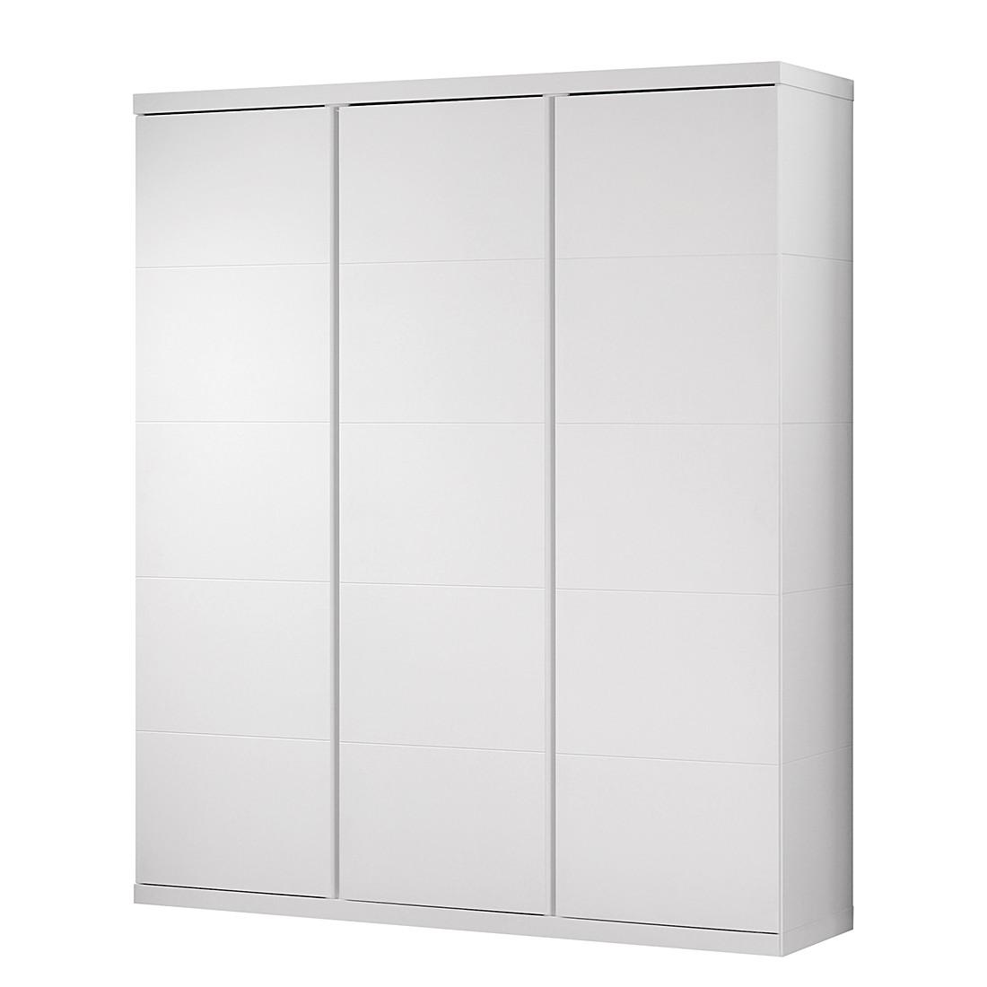 Kleiderschrank Lara (3-trg.) - Weiß, Vipack