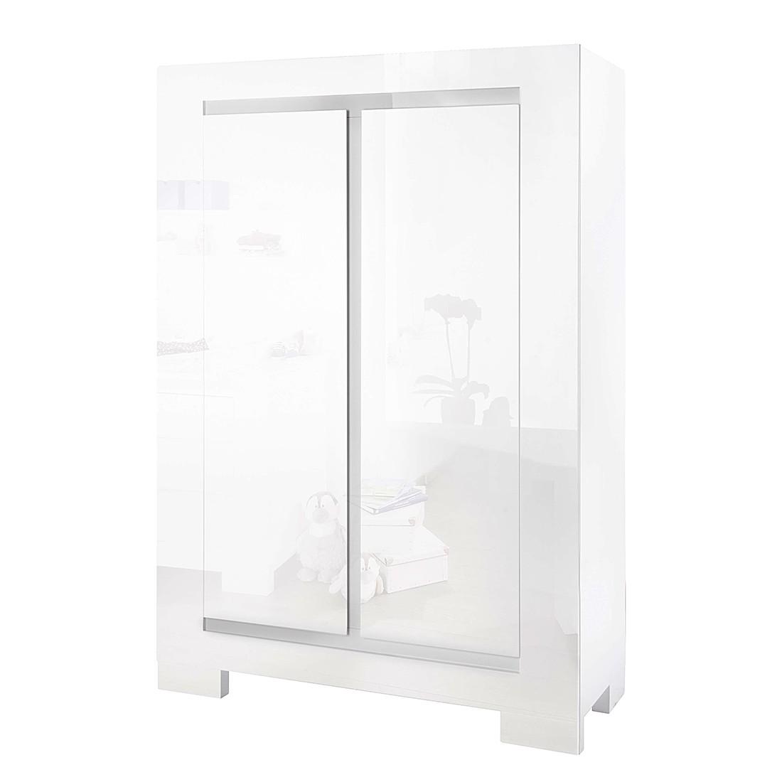 Armoire à vêtements Sky I - Vernis blanc, Pinolino