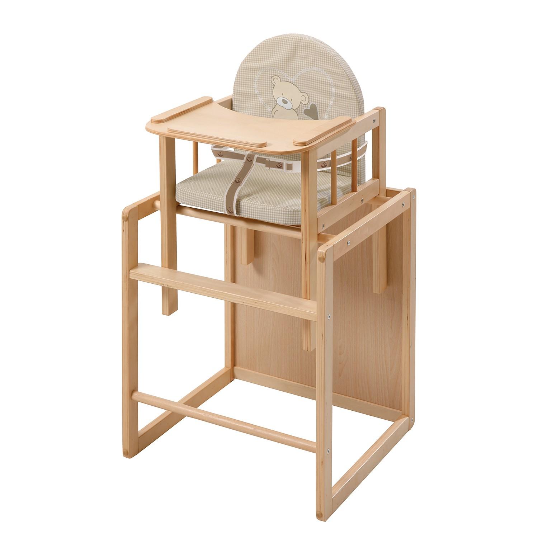 home24 Kombihochstuhl Liebhabaer | Kinderzimmer > Kinderzimmerstühle > Hochstühle | Beige | Holzwerkstoff | Roba