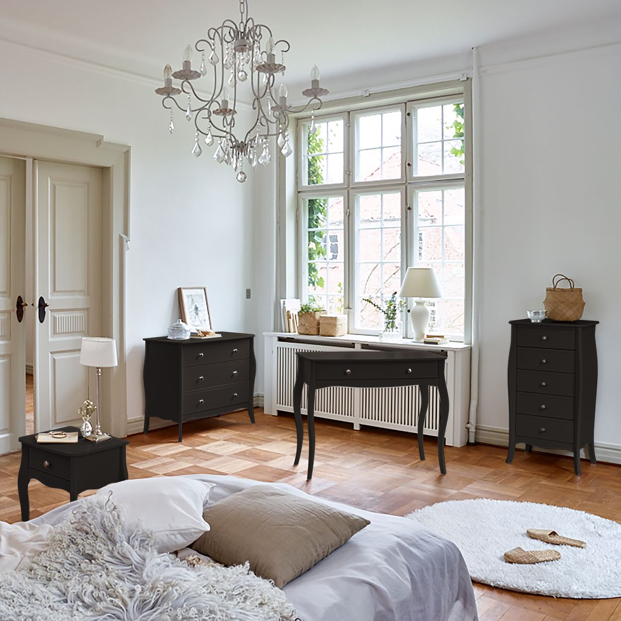 home24 Beistelltisch Baroque