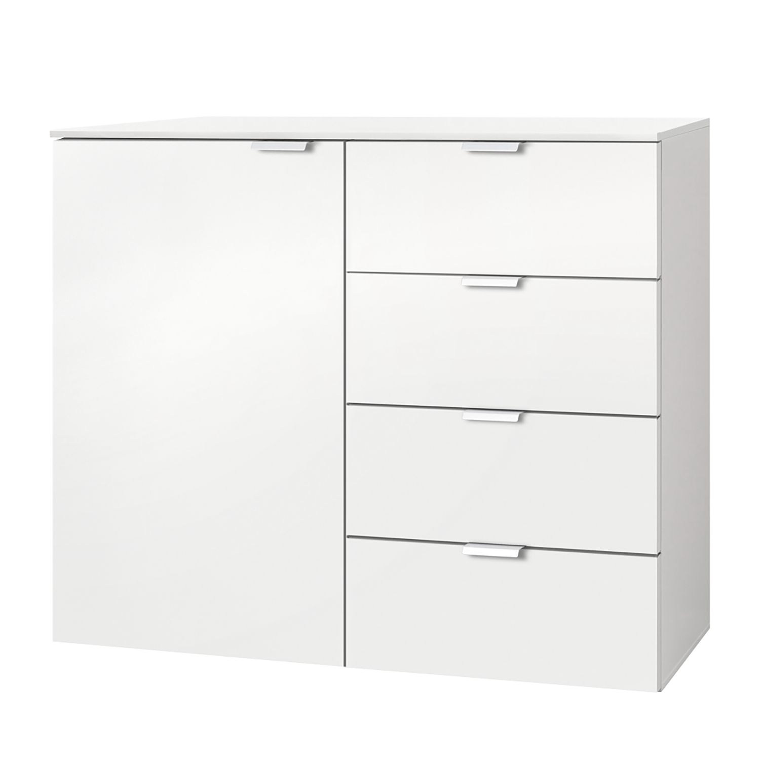 Commode Carina II - Blanc polaire, Express Möbel