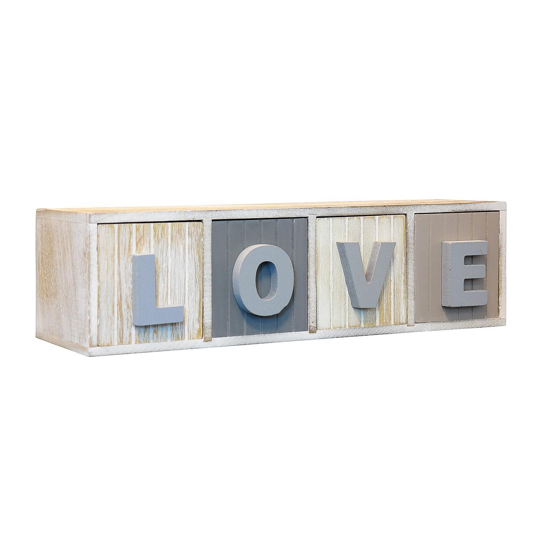 Mini ladekast Love, loftscape