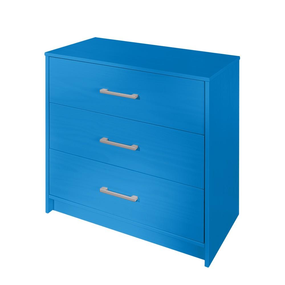 Cassettiera Lyla - Blu, Fredriks