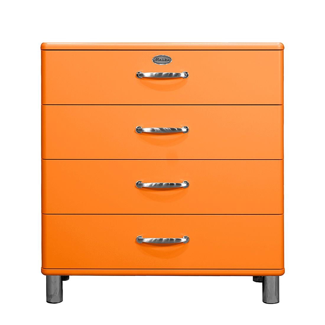 Cassettiera Malibu II - Arancione, Tenzo