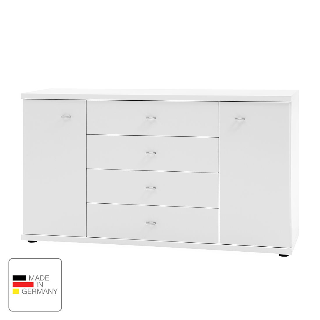 Commode Miro - Blanc alpin, Wiemann
