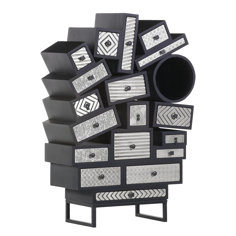 Kommode mit vielen Schubladen zum einfachen Sortieren von Papier und mehr