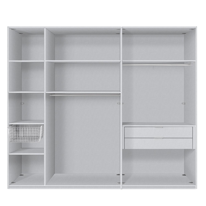 Ensemble d'accessoires pour armoire à vêtements Express - 250 cm (2 portes) - Comfort, Express Möbel