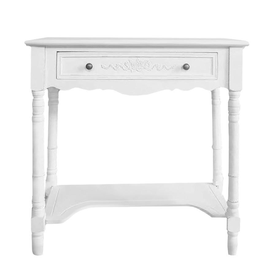 Konsolentisch Belleville | Wohnzimmer > Tische > Konsolentische | Weiss | Holz teilmassiv | Maison Belfort