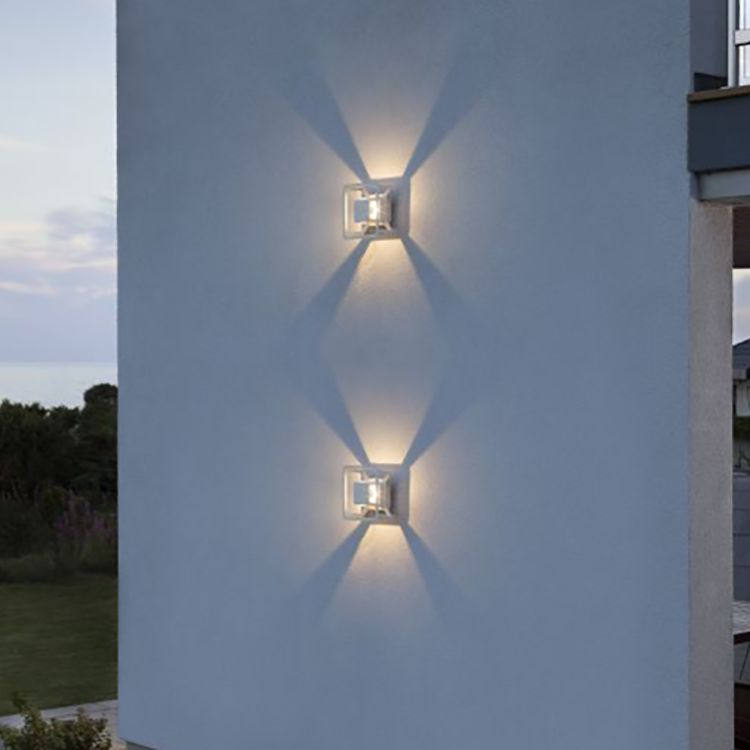 home24 LED-Aussenwandleuchte Pescara Shape II