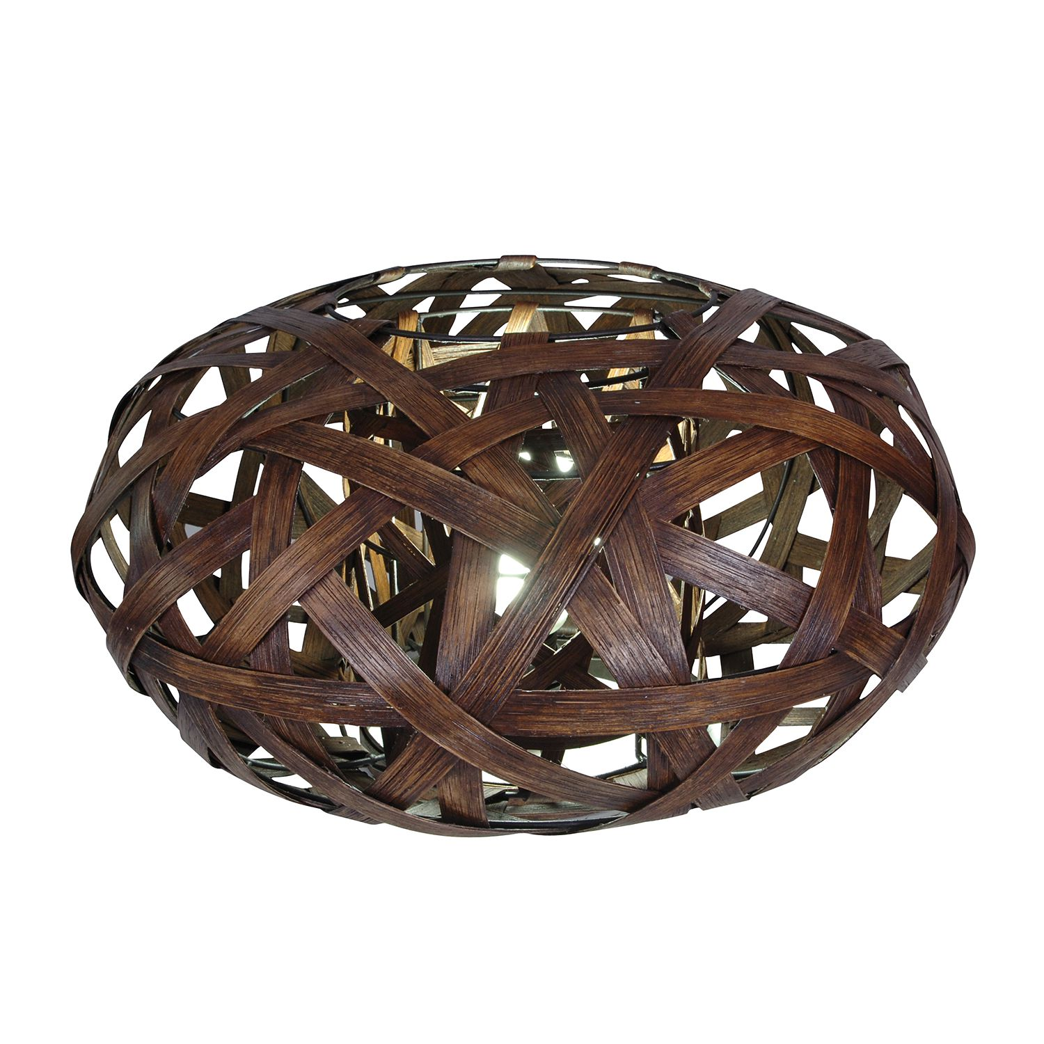 Lampe de table corbeille Ramona