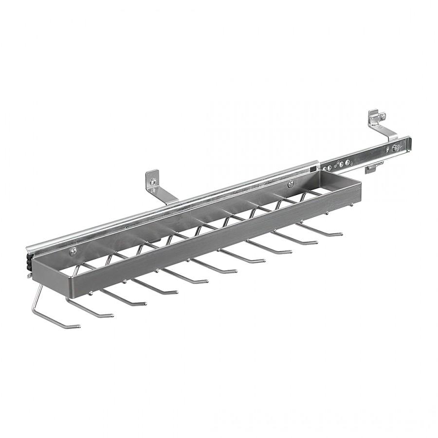 Krawatten- und Gürtelhalter Skøp II - Aluminium