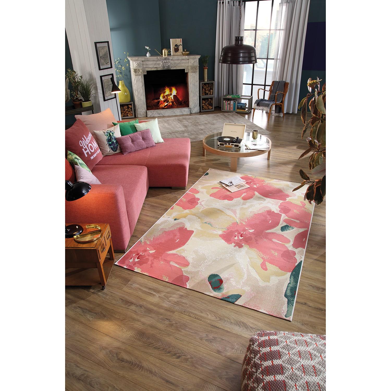 home24 Kurzflorteppich Garden Blossom