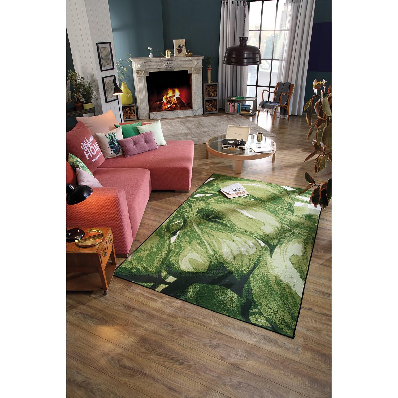 home24 Kurzflorteppich Garden Palm