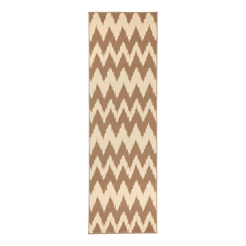 Läufer Fabric - Kunstfaser - Beige - 80 x 300 cm, Hanse Home Collection