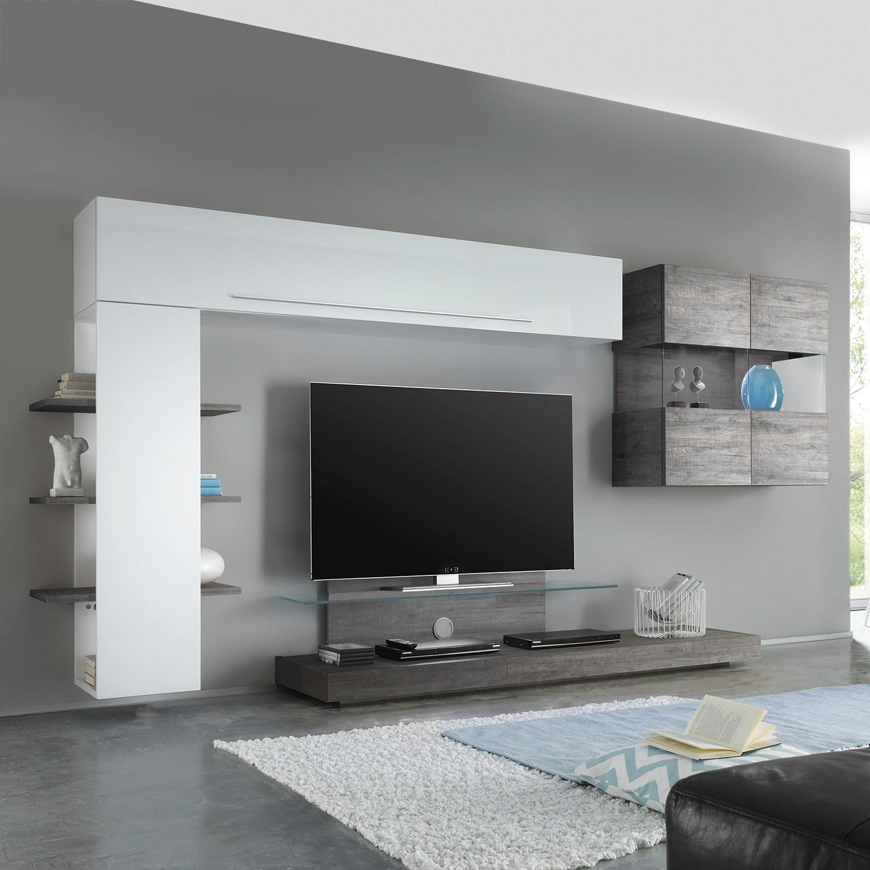 Grau Wohnwände online kaufen | Möbel-Suchmaschine | ladendirekt.de