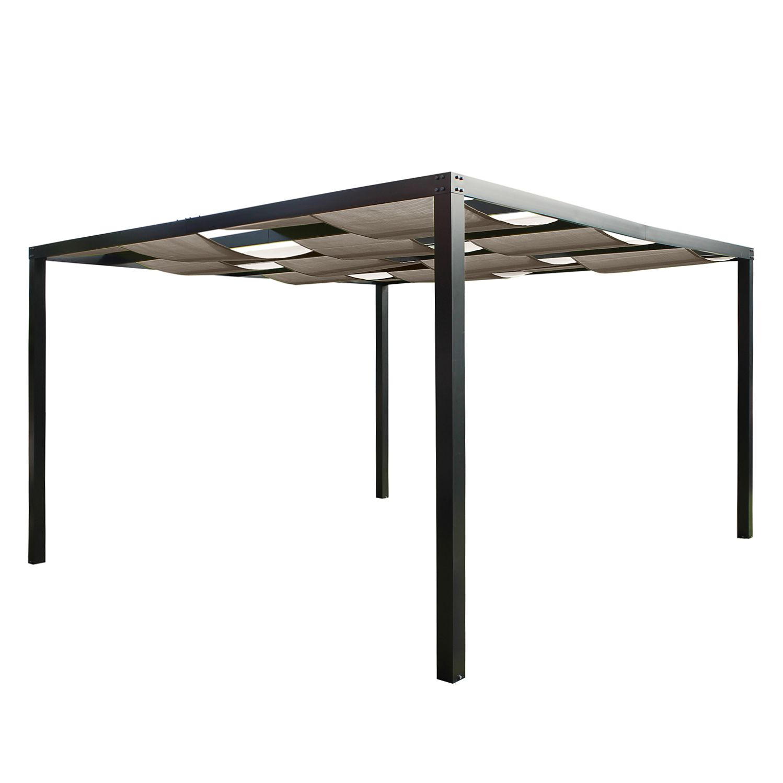 Pergola Loft - Textilene / Aluminium - Kaschmir, Leco