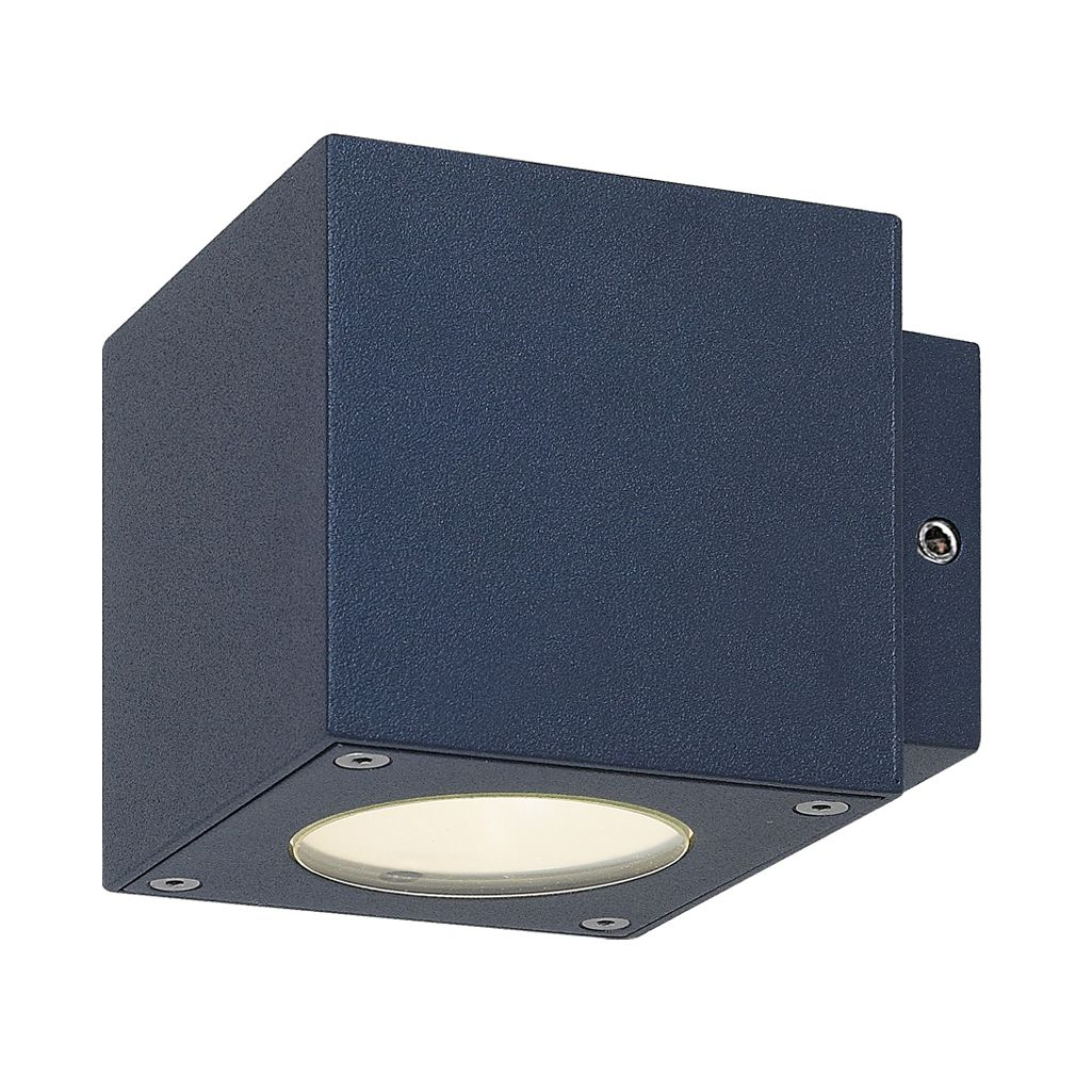 home24 LED-Aussen-Wandleuchte Cube 2-flammig