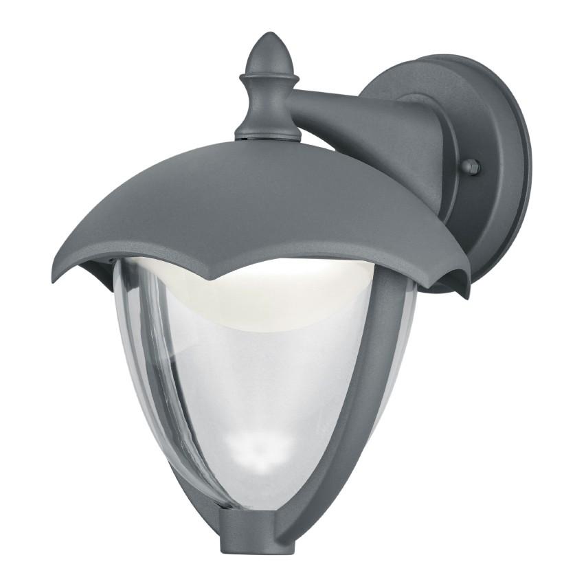 home24 LED-Wandleuchte Gracht II