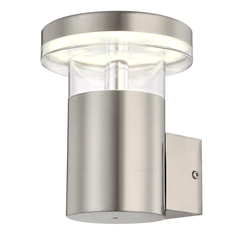EEK A+, LED-Außenleuchte Sergio I - Kunststoff / Edelstahl - 1-flammig, Globo Lighting