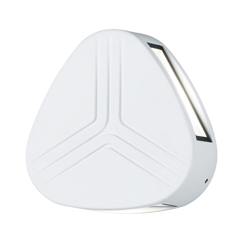 EEK A+, LED-Außenleuchte Spree 3-flammig - Aluminium Kunststoff - Silber, Trio