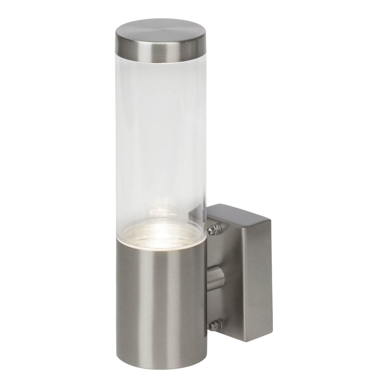 EEK A++, Außenwandleuchte Bergen Pipe I - Kunststoff / Eisen - 1-flammig - Eisen, Brilliant