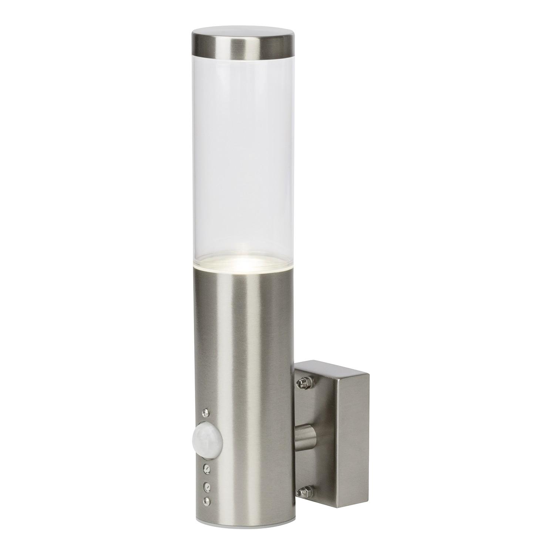 EEK A++, Außenwandleuchte Bergen Pipe II - Kunststoff / Eisen - 1-flammig - Eisen, Brilliant