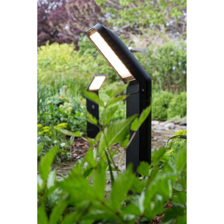 home24 LED-Wegeleuchte Panel Crest I