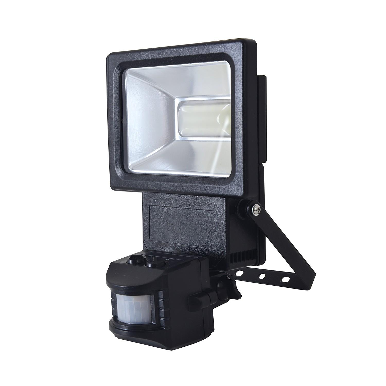 LED-Außenstrahler Bewegungsmelder, Näve