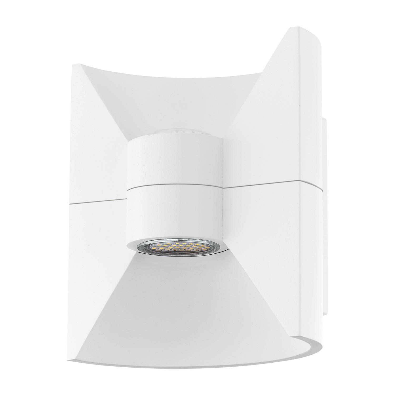 LED-Aussenstrahler Redondo | Lampen > Aussenlampen > Aussenstrahler | Weiss | Metall | Eglo