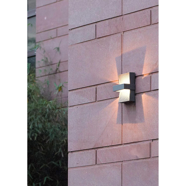 Lampada LED da parete per esterni Midway, Naeve