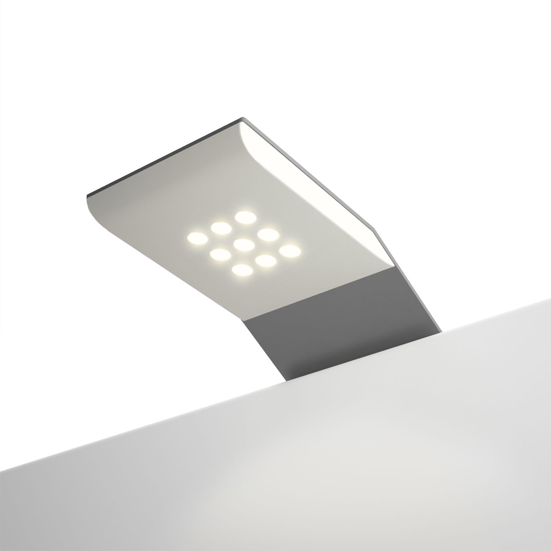 home24 LED Beleuchtung Skoep III | Lampen > Leuchtmittel > Led | Silber | Metall | SKOEP