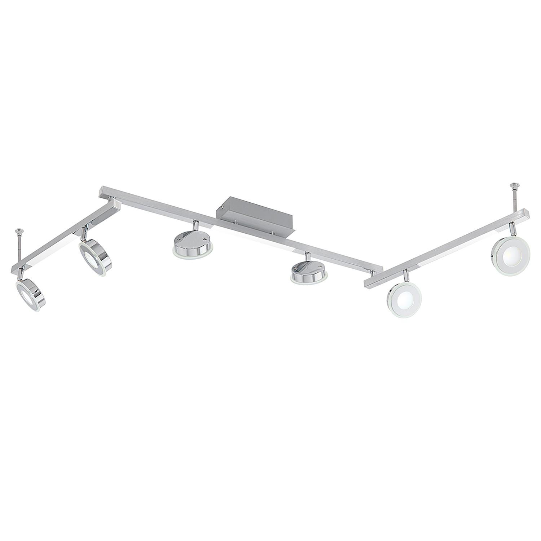 home24 LED-Deckenleuchte Cardillio III