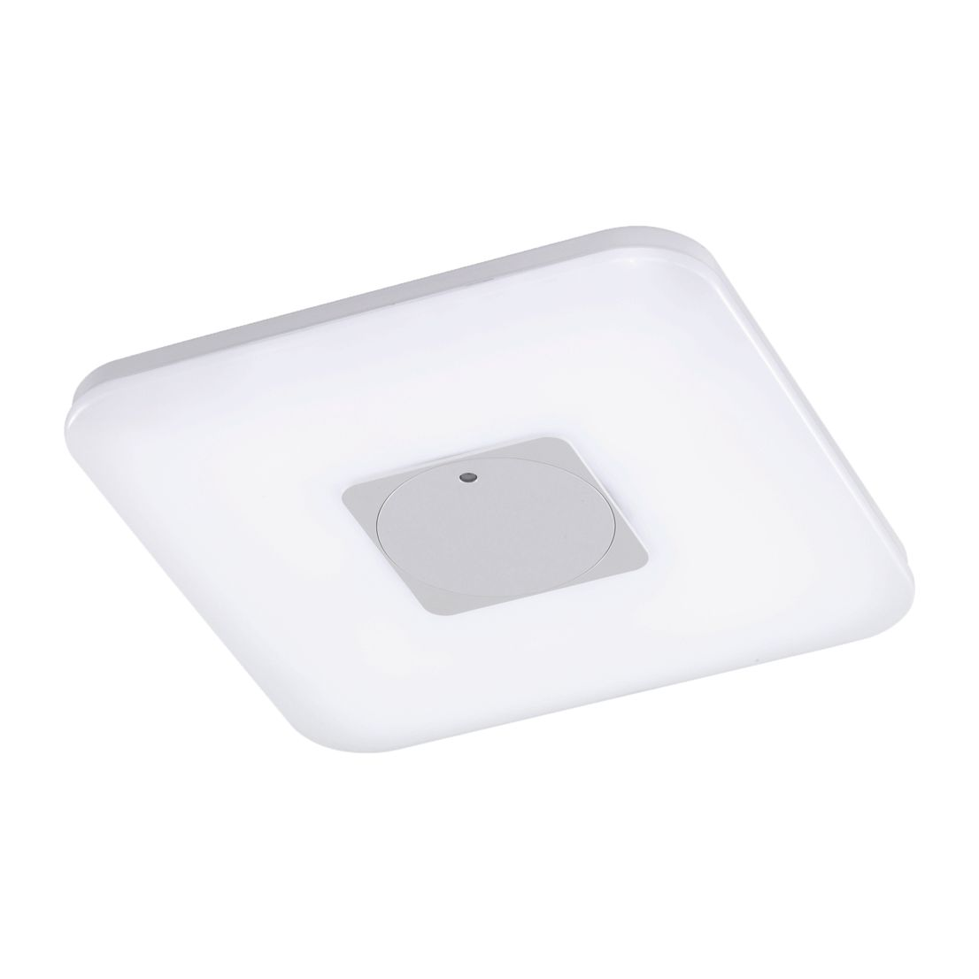 EEK A+, LED-Deckenleuchte Chamäleon 40 cm breit - Weiß Matt - 1-flammig, Honsel