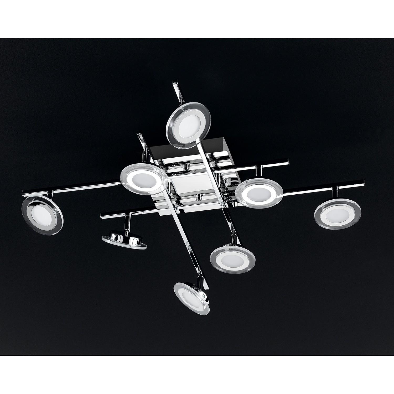 home24 LED-Deckenleuchte Chloe II